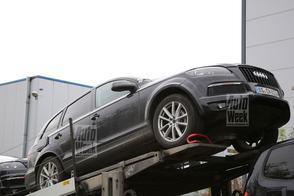 Volkswagen Touareg duikt op als mule