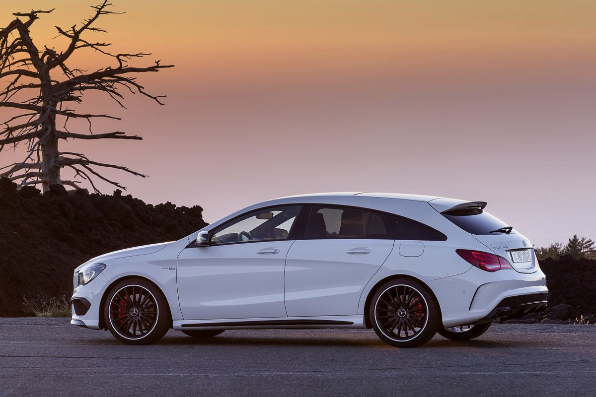 Mercedes benz cla 200 d shooting brake prestige for Prestige mercedes benz