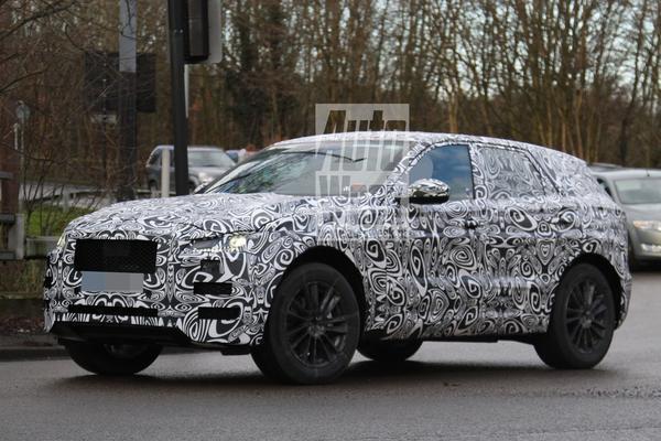 Jaguar F-Pace strekt productiebenen