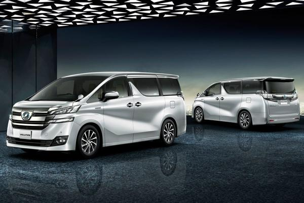 Luxe balzalen: Toyota Alphard en Vellfire