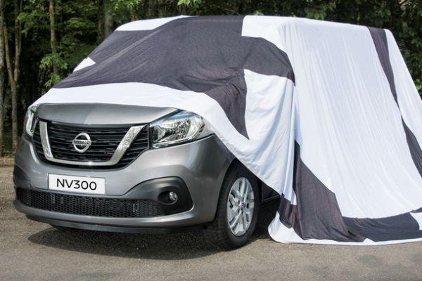Nissan toont front NV300