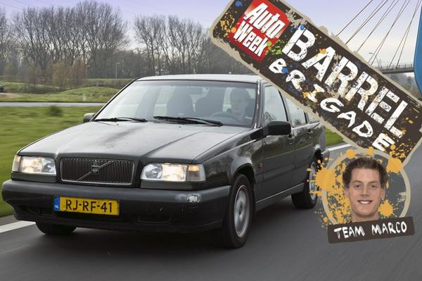 Video: Barrelbrigade - Team Marco kiest Volvo 850