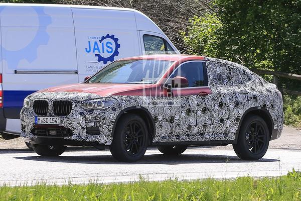 Gesnapt: nieuwe BMW X4