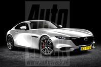 Mazda RX-9 (illustratie Milos Dvorak)