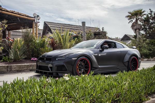 Nissan GT-R volgens Prior Design
