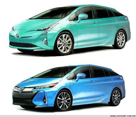 Hebben we hier de nieuwe Toyota Prius?
