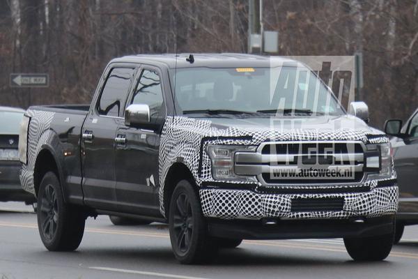 Gesnapt: gefacelifte Ford F-150