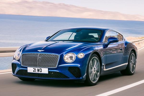 Bentley Continental GT geprijsd