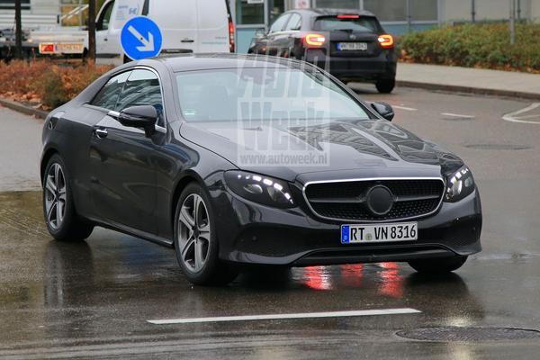 Mercedes E-Klasse Coupé weer gespot