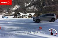 Volvo xc90 Sneeuw