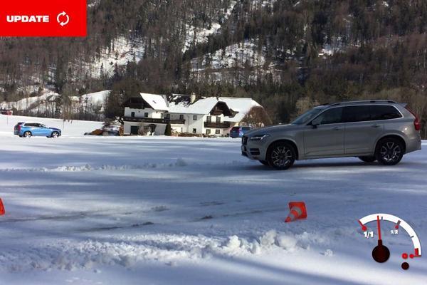 Video: Volvo's met AWD in de sneeuw - AW Update
