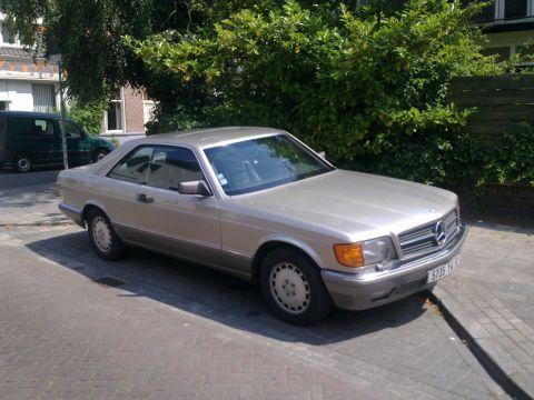 Mercedes benz 560 sec 1986 gebruikerservaring for 1986 mercedes benz 560 sec