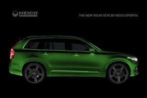 Heico plaagt met knalgroene Volvo XC90