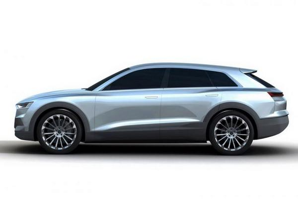 Audi 'C-BEV Concept' duikt op