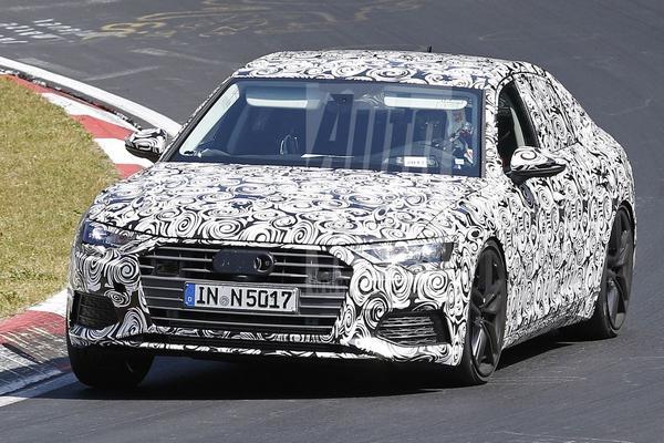 Audi A6 op de Nürburgring