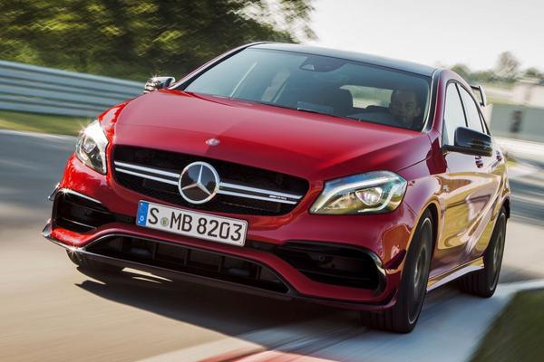 'Nieuwe Mercedes-AMG A 45 krijgt krachtkuur'