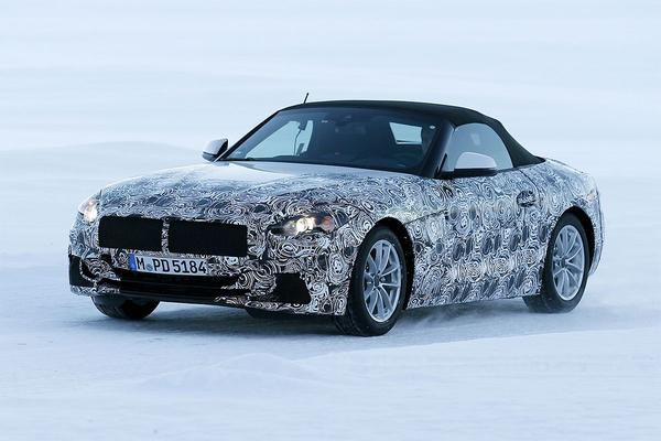 Video: BMW Z5 2018 - Spionage