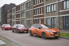 Nissan Micra - Opel Corsa - Renault Clio