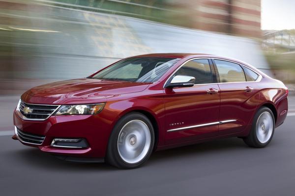 Grote sedans minder populair in Amerika