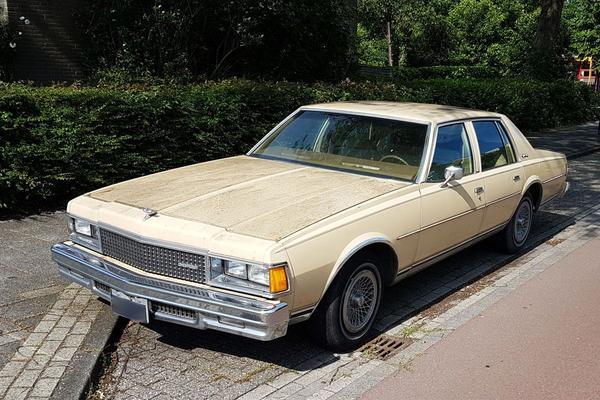 In het wild: Chevrolet Caprice Classic (1977)