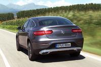 Mercedes-Benz GLC Coup� - Rij-impressie