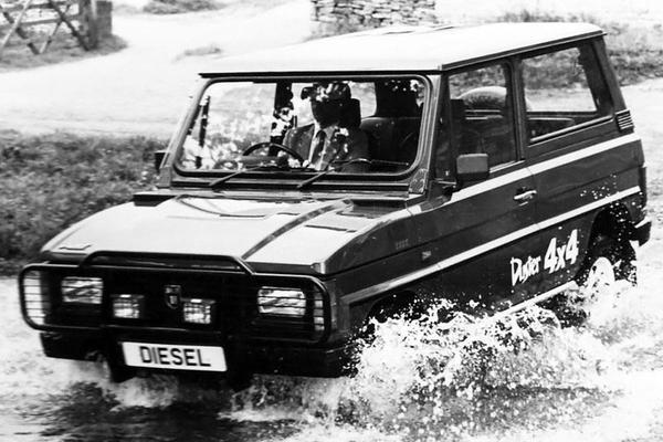 Afgestoft: ARO 10 (Dacia Duster)