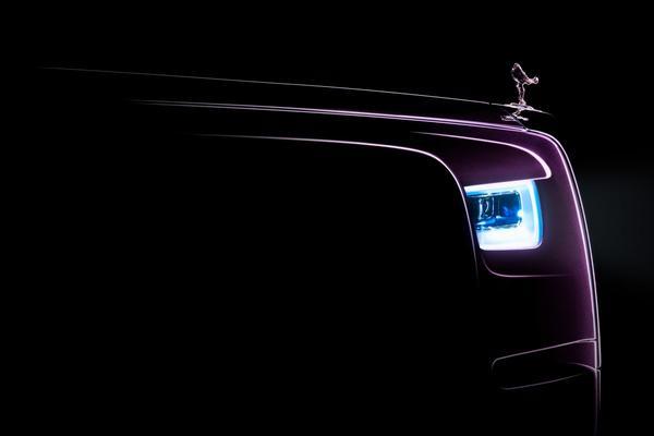 Rolls-Royce teaset nieuwe Phantom