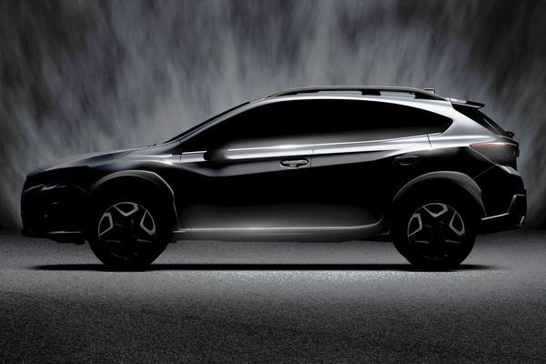 Nieuwe Subaru XV naar Genève