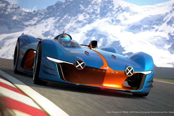 Renault Alpine Vision Gran Turismo uit de doeken