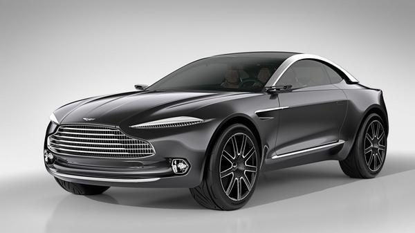 Aston Martin DBX Concept: elektro-cross-over