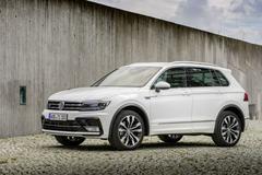 Prijzen voor nieuwe topversies Volkswagen Tiguan