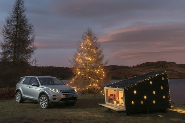 Video: Land Rover bouwt 'hut' voor VIP