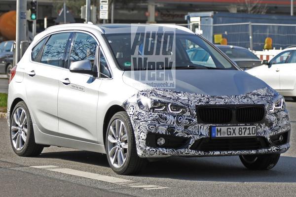 BMW 2-serie Active Tourer haalt frisse neus