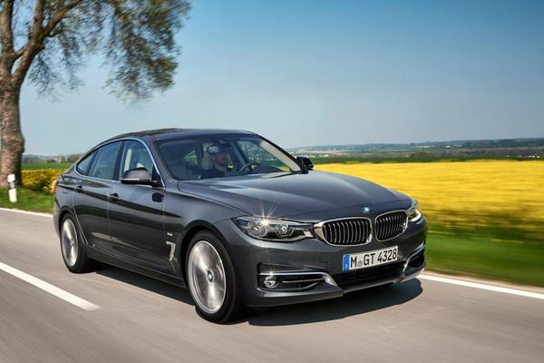BMW 3-serie GT onder het mes