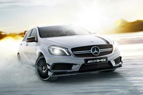 Extremere Mercedes A 45 AMG op komst