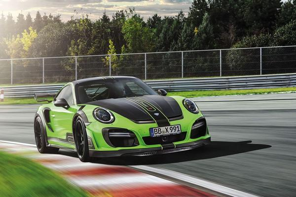 Over de top: Techart Porsche 911 GTstreet R