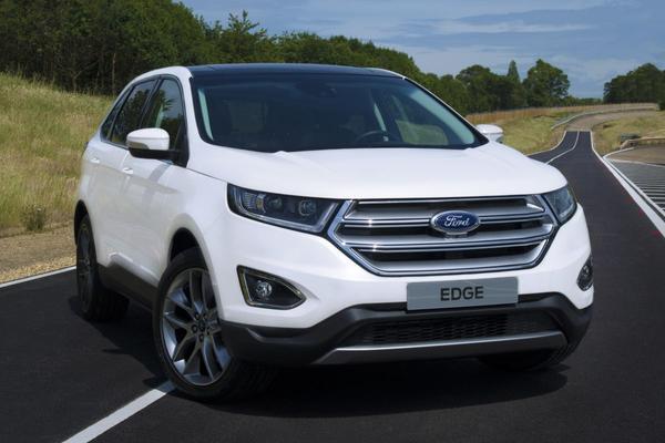 Ford Edge krijgt een (stevig) prijskaartje