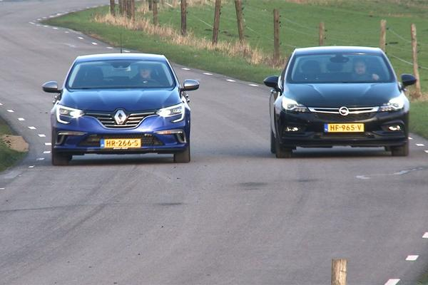 Video: Dubbeltest - Renault Mégane vs. Opel Astra