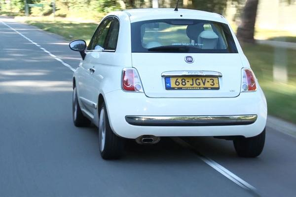 Video: Fiat 500 1.2 Lounge (2009 / 257.318 km) - Klokje Rond