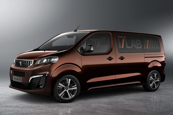 Premiumbus: Peugeot Traveller i-Lab 3.0