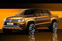 Volkswagen Amarok designschets