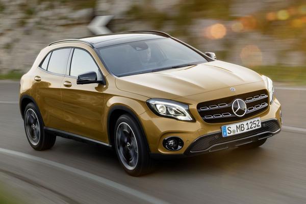 Kleine facelift voor Mercedes-Benz GLA-klasse