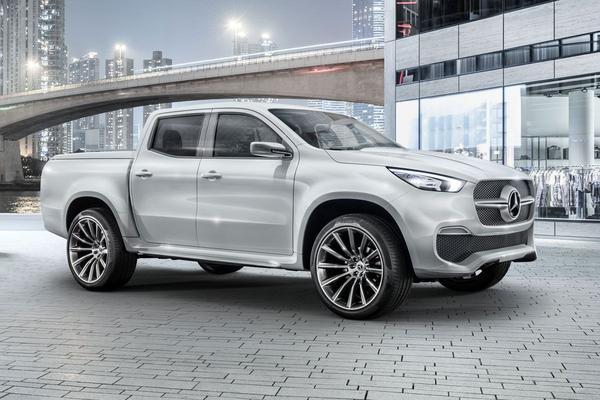 Benz met laadbak: Mercedes-Benz Concept X-Klasse