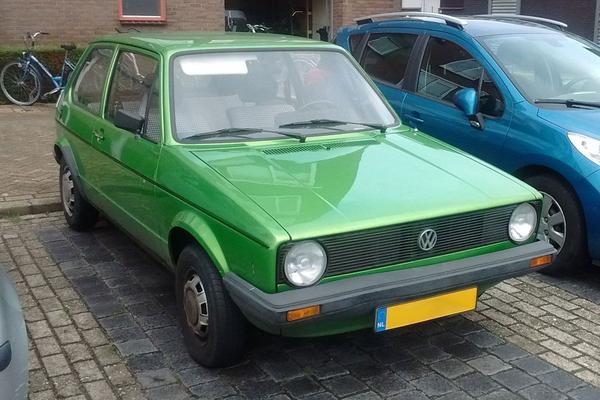 In het wild: Volkswagen Golf (1978)
