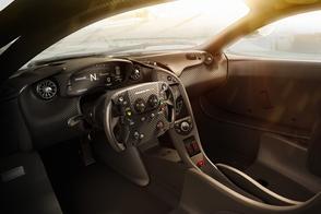 McLaren P1 GTR toont binnenste
