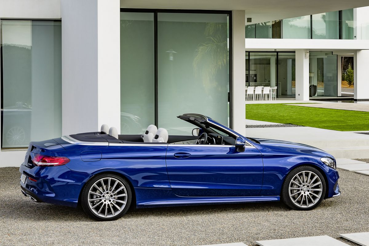 prijzen mercedes benz c klasse cabrio bekend autonieuws. Black Bedroom Furniture Sets. Home Design Ideas