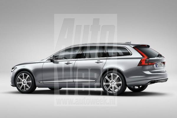 Dít is de nieuwe Volvo V90!