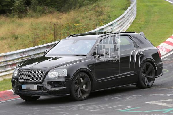 Bentley Bentayga krijgt Speed-versie