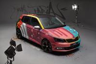 Skoda Fabia Art Car