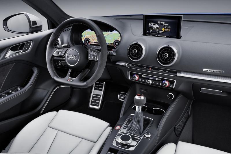 Audi scherpt rs3 sportback aan autonieuws for Interieur 360 karachi